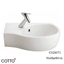 Lavabo COTTO treo tường C02807