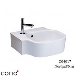 Lavabo COTTO treo tường C04017