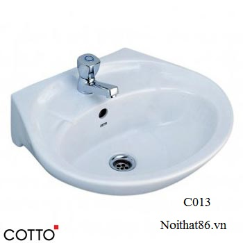 Lavabo COTTO treo tường C013