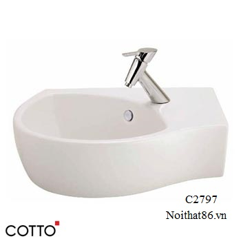 Lavabo COTTO treo tường C02797